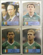 Panini de fútbol Euro 88 Pegatinas estatuilla Panini-Irlanda No186, 189,193,202