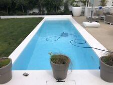 More details for swimming pool diy self build concrete re-enforced pool kit 24' x 12 flat floor