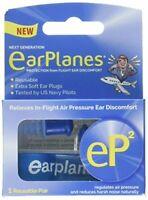 EarPlanes eP2 Reusable earplugs 1 pair
