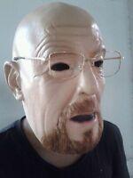 Montura Metálica Gafas (No Lentes) Bad Walter Estilo Disfraz TV