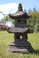 Lanterna pagoda giapponese 2 livelli, decorazione importata di thaïlande (10514)