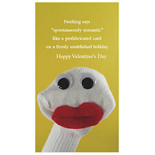 Sock'ems Unique Greeting Card - VALENTINE'S DAY - #SE-39