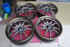 "JDM 17"" MF10 MF8 Style wheels rims fn2 ctr itr ek9 fk2 dc5 cl1 cf4 rsx MUGEN"