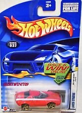 HOT WHEELS 2002 FIRST EDITIONS #037 LANCIA STRATOS RED