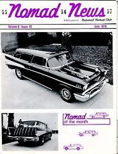 Nomad News Magazine June 1978 1957 Chevrolet EX 032817nonjhe