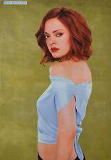 ROSE MCGOWAN - A3 Poster (ca. 42 x 28 cm) - Charmed Clippings Fan Sammlung