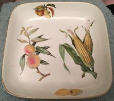 Royal Worcester Evesham Large Square Oven To Table Serving Dish 27cm
