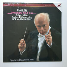 Mahler | Symphony No. 4 | Haitnik | PAL | LASERDISC still sealed