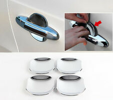 Chrome Door Catch Under Bowl Molding Garnish 4p For 2007 2012 Hyundai Santa Fe