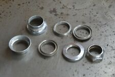 """Vintage Bicycle Headset - Chrome Steel - 24 TPI 1"""" Threaded"""