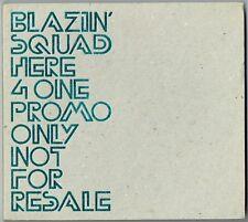 "BLAZIN' SQUAD - 5"" CD - Here 4 One (Radio Edit) Gatefold Digipak Promo"