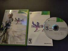 Final Fantasy XIII-2 (Microsoft Xbox 360, 2012) Complete- No poster