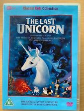 The Last Unicorn DVD 1982 Cult Children's Animated Fantasy Film