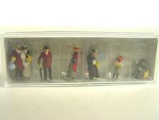 in Winterkleidung um 1900 - Preiser HO Figuren 1:87 -  12195  #E