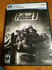 BETHESDA SOFTWORKS FALLOUT 3: Games for Windows (PC, 2008) EXCELLENT!