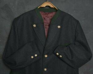 Lorenz Ganter Men Blazer Jacket XL Wool Jagd Hunting Tyrol Loden Coat Vintage