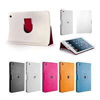 360° Drehbar Case iPad mini 1 2 3 Schutz Hülle Cover Etui Ständer Tasche Weiß