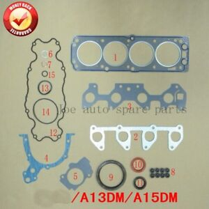 A14SMS A15SMS Engine Full gasket set kit for Daewoo Lanos saloon 1.4L 1349cc/1.5