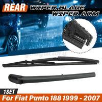 Rear Window Windscreen Windshield Wiper Blade & Arm For Fiat Punto 188 99-07