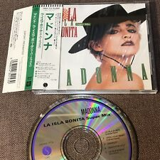 "MADONNA La Isla Bonita Super Mix JAPAN 5"" CD 1987 issue 28XD-713 w/OBI+PS FreeSH"