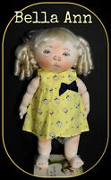 "Jan Shackelford Doll Bella Ann To The Moon And Back W/COA 19""Tall"
