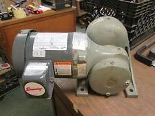 Emerson AC Motor w/ Gear E183 0.75HP 1750RPM 208-230/460V 3.2/1.6A Used