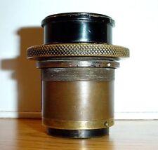 Antique Triplet Petzval Camera Projection Lens Loupe Magnifier