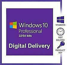 Windows 10 Pro Professional Genuine License Key Instant Online Activation