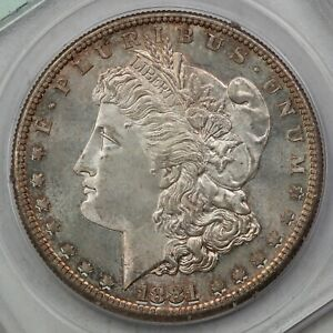 1881-S Morgan Silver Dollar, PCGS MS64 CAC Rattler, Way Better than 64!