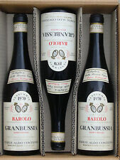 1970 Barolo granbussia, CONTERNO 1 flacon!!! PREMIER millésime/1st vintage!!!