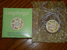 Longaberger Jelly Beans Tie-ON  NEW in Box  Made in the USA