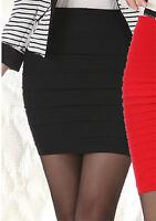 Black Mini Skirt Size 6 8 10 12 Sexy Short Mini Skirts sexy tight miniskirt
