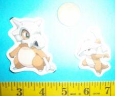 Pokemon Gen #1 Cubone, Marowak, Fabric Appliques ~ Iron ons