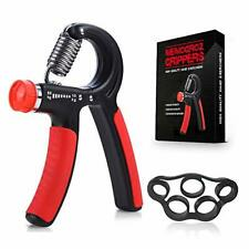 Hand Grip Strengthener - Adjustable Resistance 22-132 Lbs (10-60kg) - Hand