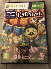 Carnival Games In Action (Microsoft Xbox 360, 2011)