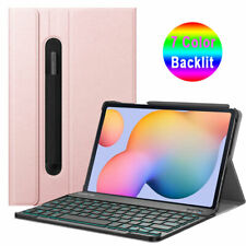 7 Color Backlit Keyboard Case For Samsung Galaxy Tab S6 Lite 10.4 2020 SM-P610