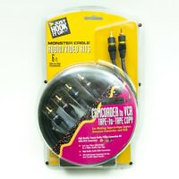 Monster Cable A/V Kit Balanced Audio/Video Stereo - 6ft