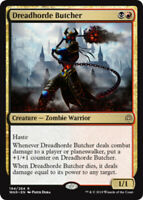 1x NM-Mint, English Foil Dreadhorde Butcher - Foil War Of The Spark