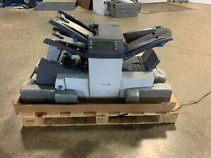 PITNEY BOWES RELAY 3000 3-STATION FOLDER INSERTER! LOW COUNT!