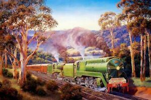 Artist John Bradley, Western Endeavour - AP - Hand Signed Ltd Ed on Paper.