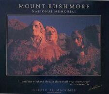 Le Mont Rushmore Poster-Gerald Brimacombe - 66x77cm vintage photo 1987 POSTER