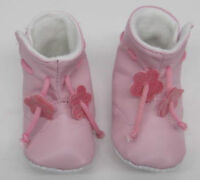 Baby Toddler  Girls Boots Pink first shoes 12 months BOOTIES PRAM