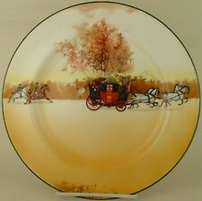 Royal Doulton Coaching Days Pursued E3804 Dinner Plate 1939 18-39