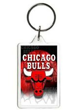 CHICAGO BULLS NOVELTY PHOTO BASKETBALL KEYCHAIN