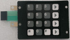 Dresser Wayne 886535-001 preset keypad for the 1/V Vista & 2/V Vista