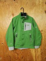 Mens Mountain Hardwear Conduit Softshell Jacket Green Large
