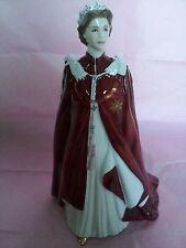 Mint Royal Worcester Queen Elizabeth II 80th Birthday Commemorative Figure