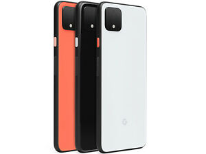 Google Pixel 4 64GB Black White Orange (Unlocked) 60-Day Warranty