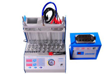 6 Cylinders gasoline fuel Injector Tester and Cleaner machine MST-A360 free ship