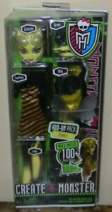 RETIRED 2011 MINT RIGHT OUT OF THE CASE MONSTER HIGH CREATE A MONSTER INSECT